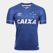 Camisa Juvenil Cruzeiro Umbro Oficial 3 2017 2018 ba4fe60caa0f4
