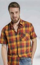 Camisa m/c beagle xadrex -