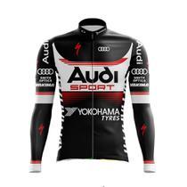 Camisa Manga Longa Audi Ciclismo Mtb Dry Fit Bicicleta - Decole