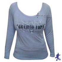 Camisa Manga Longa do Grêmio Feminina - Veet - Braziline