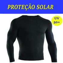 Camisa Manga Longa Proteção Solar Uv 50% Térmica Unissex - Vil