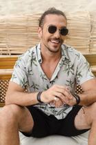 Camisa masculina de botão estampada Tropical - Opus -