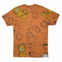 Camisa Masculina Estampada Garfield - Cara Do Dono