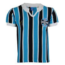 Camisa Masculina Grêmio Retrô 1977 Bordada Nº 9 Torcedor -
