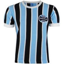 Camisa Masculina Grêmio Retrô 1983 Bordada Manga Curta Nº 3 -