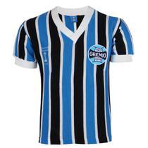 Camisa Masculina Grêmio Retrô 1983 Gola V Bordada Torcedor -