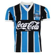 Camisa Masculina Grêmio Retrô Libertadores 1989 Bordada Nº 8 -