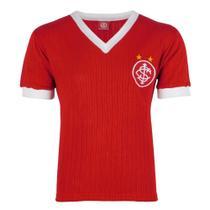 Camisa Masculina Retrô Internacional Canelada Gola V Nº 7 -