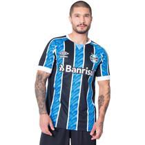 Camisa Masculina Umbro Grêmio Oficial 1 2020 C/N 11 Azul/Preto -