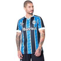 Camisa Masculina Umbro Grêmio Oficial 1 2020 S/N Azul/Preto -