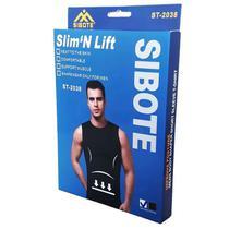 Camisa Modeladora De Medidas Slimn lift SIBOTE - PRETA M - RPC
