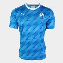 Camisa Olympique de Marseille Away 19/20 s/nº Torcedor Puma Masculina -