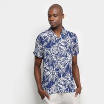 Camisa Pacific Blue Coqueiro Masculina -