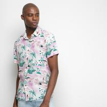 Camisa Pacific Blue Tropical Masculina -