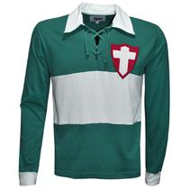 Camisa Palmeiras 1916 Liga Retrô Longa  Verde -