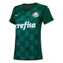 Camisa Palmeiras I 21/22 s/n Torcedor Puma Feminina -