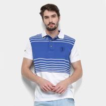 Camisa Polo Aleatory Fio Tinto Listrada Masculina -