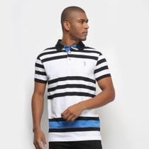 Camisa Polo Aleatory Fio Tinto Masculina -