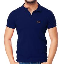 Camisa Polo Básica Piquet Slim - POLO Match