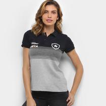 Camisa Polo Botafogo Viagem Topper Feminina -