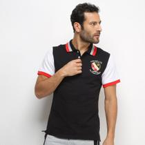 Camisa Polo Eagle Rock Bicolor Manga Curta Masculina