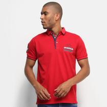 Camisa Polo Eagle Rock Bordados Masculina