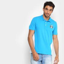 Camisa Polo Grêmio Básica Masculina - Meltex