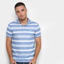 Camisa Polo Izod Listrada Masculina -