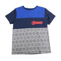 15b195e20 Camisa Polo Manga Curta - Meia Malha - Marvel - Avengers - Disney