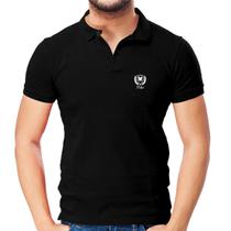 Camisa Polo Piquet Regular Fit Brasão - POLO Match