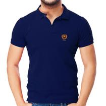 Camisa Polo Piquet Slim Fit Brasão - POLO Match