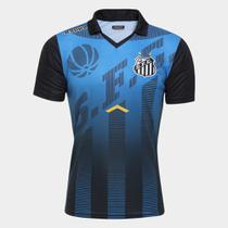 Camisa Polo Santos Viagem Elenco Kappa -