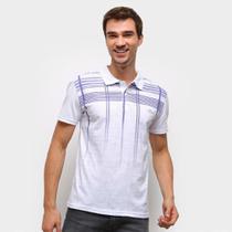 Camisa Polo Ultimato Estampada Manga Curta Masculina -