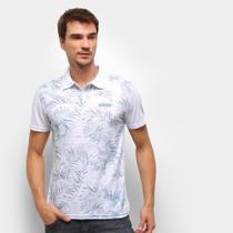 Camisa Polo Ultimato Meia Malha Estampada Masculina -