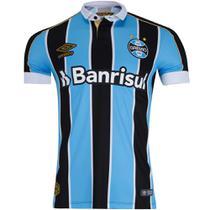 Camisa Polo Umbro Grêmio Oficial I 2019 Masculina -