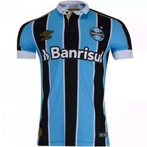 Camisa Polo Umbro Grêmio Oficial I 2019 (Patro.+ Nº10) Masculina -