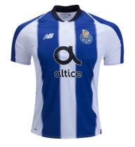Camisa Porto Home 2018 2019 - Torcedor New Balance Masculina 8707d12a8311c