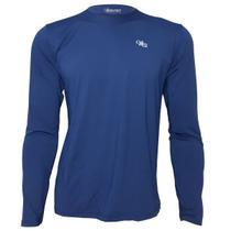 Camisa Proteção Solar Acqua Sport UV Manga Longa Masculina Marinho - Mprotect