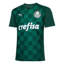 Camisa Puma Palmeiras Oficial I 2021 Masculina - Verde -