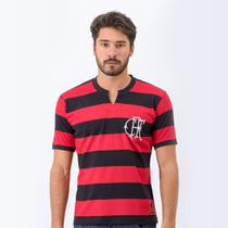 Camisa Retrô Flamengo Tri Masculina - Retrôgol
