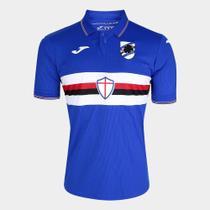 Camisa Sampdoria Home 19/20 s/nº Torcedor Joma Masculina -