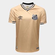 Camisa Santos Dourado III 2018 - GG - Dass