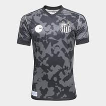 Camisa Santos III 17/18 s/n - Torcedor Kappa Masculina -