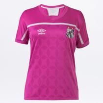 Camisa Santos Outubro Rosa 20/21 s/nº Torcedor Umbro Feminina -