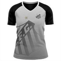 Camisa Santos Shield Feminina - Braziline -