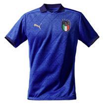 Camisa Seleção Itália Home 20/21 s/nº Torcedor Puma Masculina -