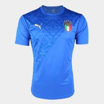 Camisa Seleção Itália Pré-Jogo 20/21 Puma Masculina -