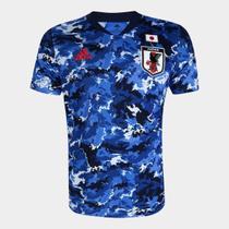 Camisa Seleção Japão Home 20/21 s/nº Jogador Adidas Masculina -