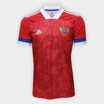 Camisa Seleção Rússia Home 20/21 s/n Torcedor Adidas Masculina -