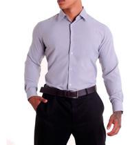 Camisa Social Masculina Slim Fit Eventos Festas Casamentos - Vida Loca Modas